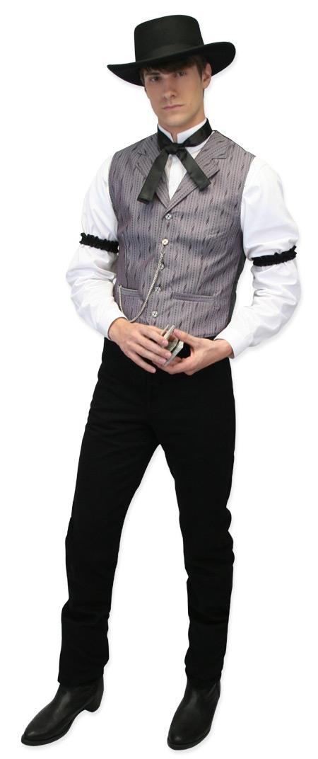 Steampunk Mens Black Wool Felt Wide Brim Hat | Gothic | Pirate | LARP | Cosplay | Retro | Vampire || Soft Gambler Hat - Black