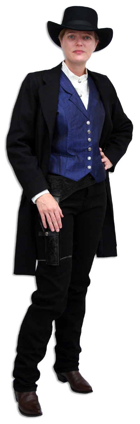 1800s Ladies Black Wool Solid Notch Collar Frock Coat | 19th Century | Historical | Period Clothing | Theatrical || Wool Vintage Frock Coat