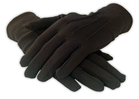 Victorian Mens Black Solid Gloves | Dickens | Downton Abbey | Edwardian || Mens Formal Dress Gloves - Black