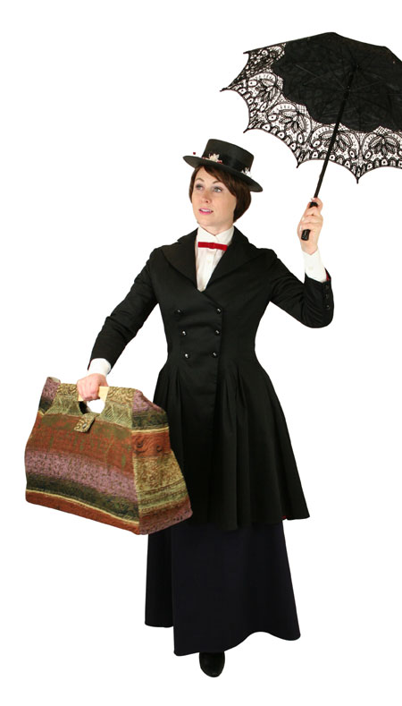 Victorian Ladies Black Cotton,Lace Lacy Parasol | Dickens | Downton Abbey | Edwardian || Battenberg Lace Parasol - Black