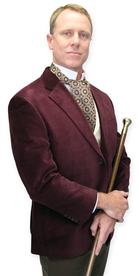 Steampunk Mens Gold Brass,Wood Cane   Gothic   Pirate   LARP   Cosplay   Retro   Vampire    Governor Cane - Brass