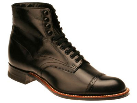 ab9b0047184 Mens Lace Up Boots - Black Leather