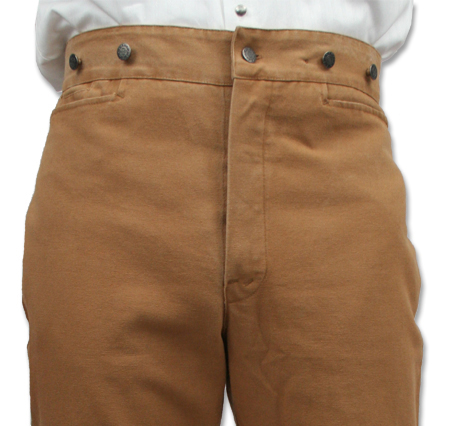 Frontier canvas pants