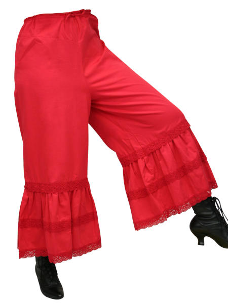 Bloomers Cotton Red