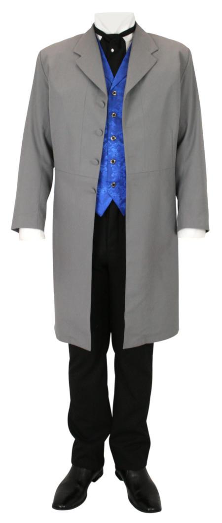 Callahan Frock Coat - Gray