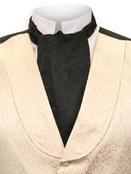 Paisley Ascot Tie