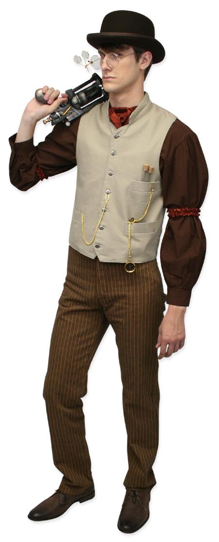 Wedding Mens Brown Cotton Solid Band Collar Work Shirt | Formal | Bridal | Prom | Tuxedo || Fundamental Work Shirt - Chocolate