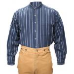 Lawman Stripe Shirt - Blue