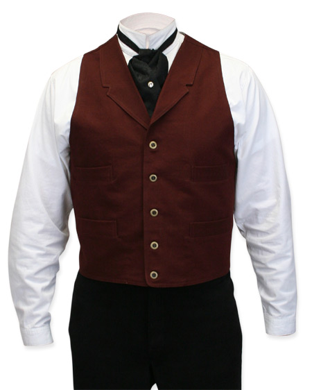Canvas Work Vest