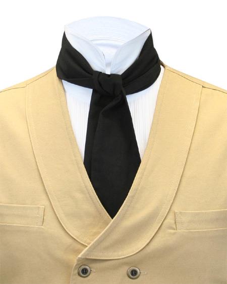 Cotton Cravat - Black