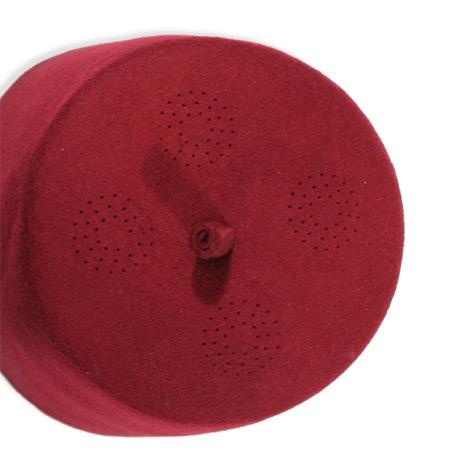 0d61da2b9 Fez - Burgundy Wool Felt