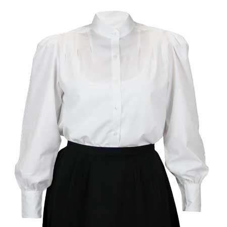 Gibson Girl White Blouse