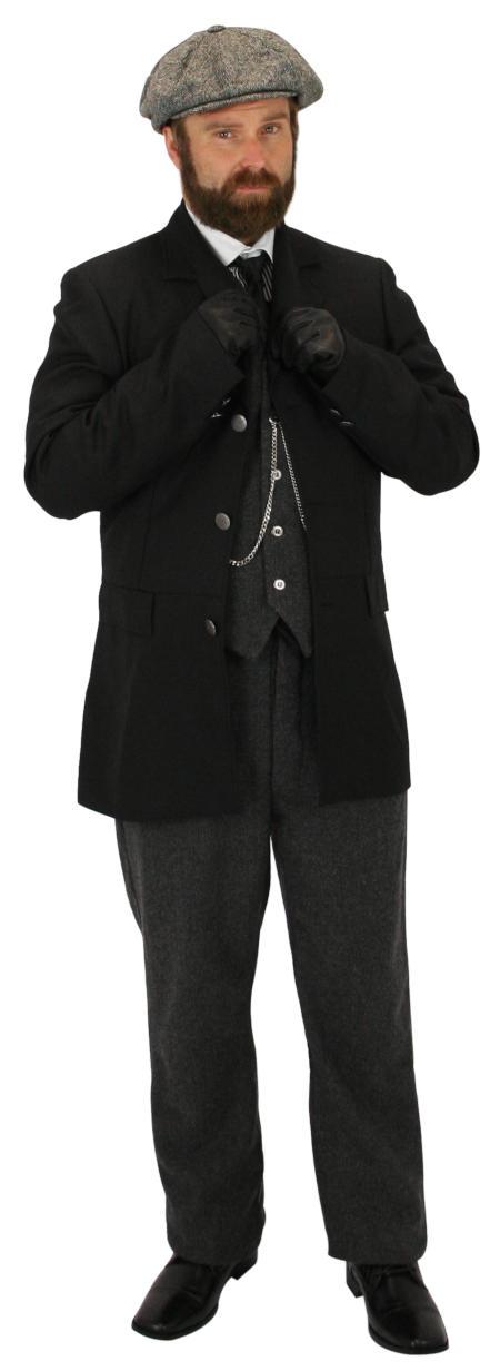 Vintage Mens Black,White Cotton Stripe Banker/Club Collar Dress Shirt | Romantic | Old Fashioned | Traditional | Classic || Barrymore Shirt - Black/White