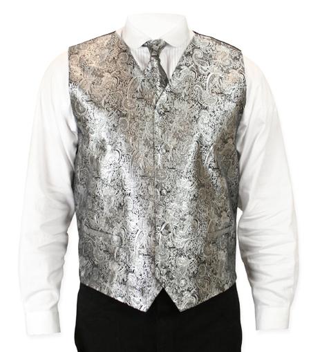 Showman Vest - Silver
