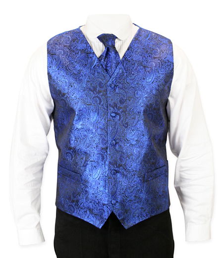 SHOWMAN VEST ROYAL