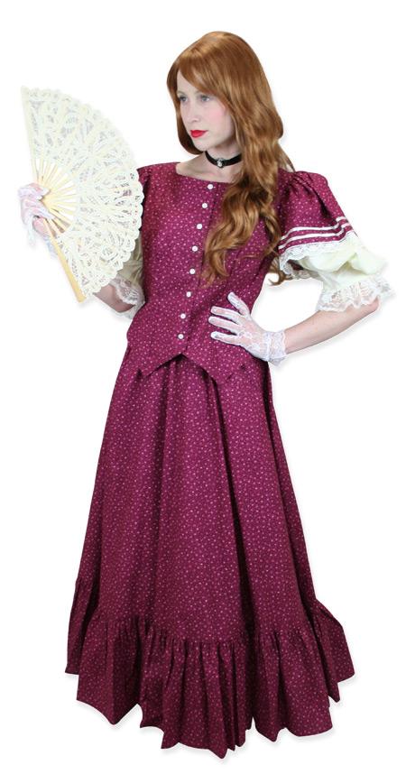 Wedding Ladies Burgundy Cotton Print Suit | Formal | Bridal | Prom | Tuxedo || Vera Day Suit - Burgundy