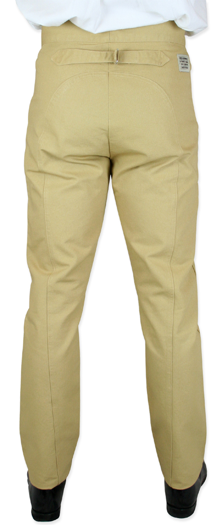 Wedding Mens Brown,Tan Cotton Solid Work Pants | Formal | Bridal | Prom | Tuxedo || Olson Saddle Pants - Wheat Solid