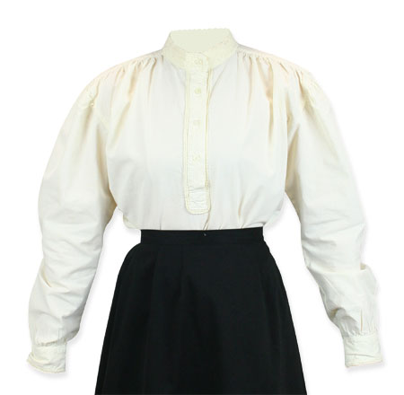 well made blouse
