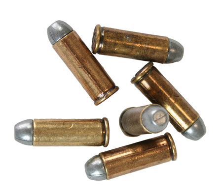 Steampunk Mens Brass Dummy Amm | Gothic | Pirate | LARP | Cosplay | Retro | Vampire || Dummy Bullets, set of 6 - Brass .45 cal
