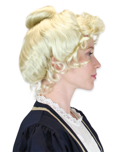 Vintage Ladies Blonde Wig | Romantic | Old Fashioned | Traditional | Classic || McKenna Wig - Blonde