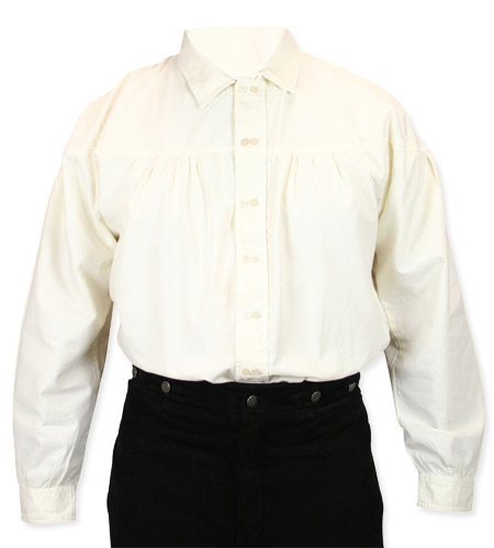 Reeves Shirt - Ivory