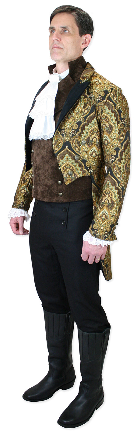 Brocade tailcoat