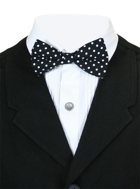 Steampunk Mens Black Geometric Bow Tie | Gothic | Pirate | LARP | Cosplay | Retro | Vampire || Celestial Bow Tie - Black/White