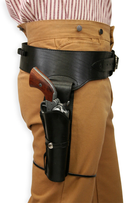 Plain Black Western Holster