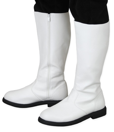 4942ebd77a8 Captains Mid-Calf Boot - White Faux Leather