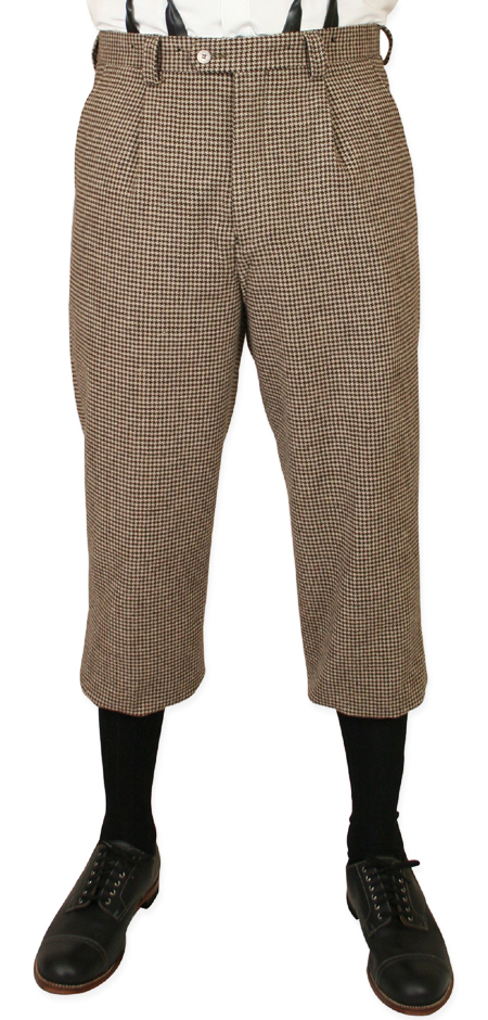 Darby Houndstooth Knickers - Tan