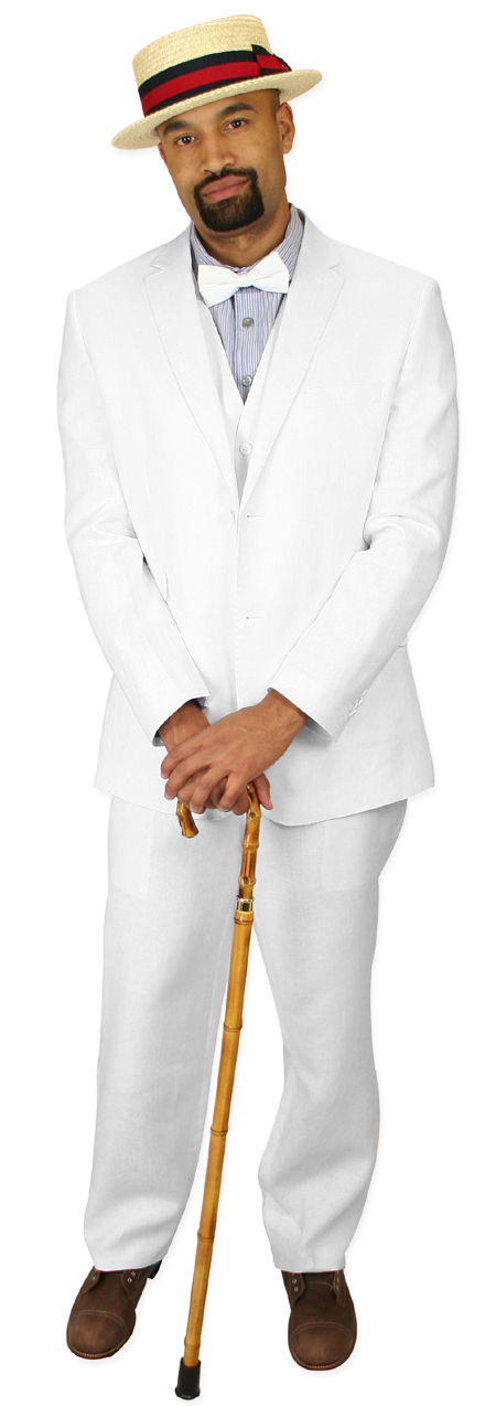 bright in luster new high quality dependable performance Riverdale Linen Suit - White