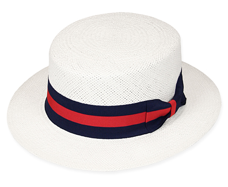 Natchez Straw Boater Hat