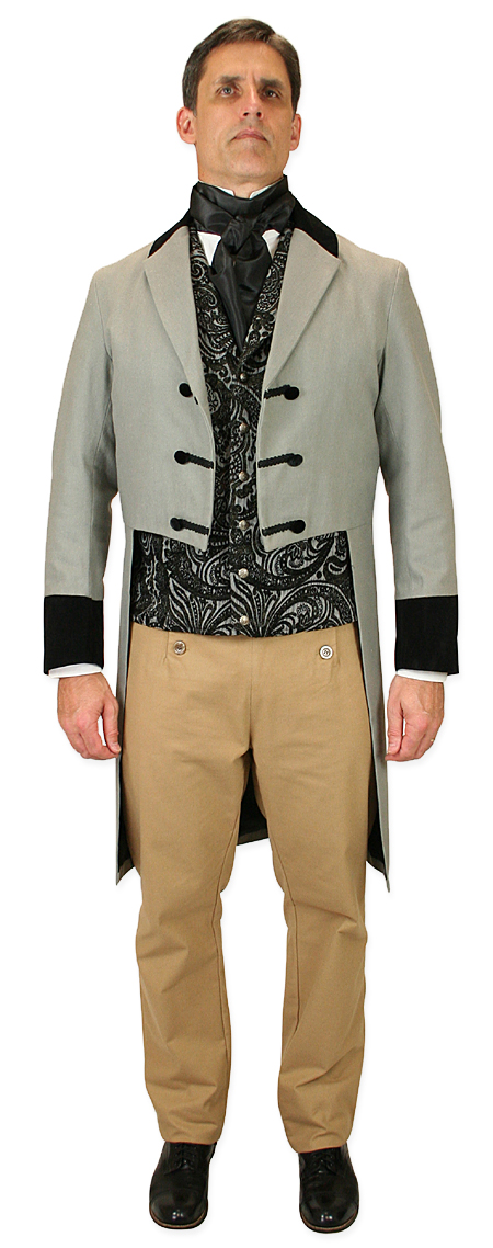 Sovereign Regency Tailcoat - Gray