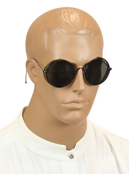 Vintage Mens Black Alloy Sunglasse   Romantic   Old Fashioned   Traditional   Classic    Cloudhopper Sunglasses - Black/Black