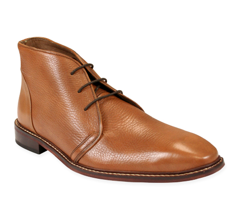 Victorian Mens Tan,Brown Leather Boots   Dickens   Downton Abbey   Edwardian    Leather Brogan Boot - Tan Leather