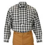 Appaloosa Shirt - Black and White Check