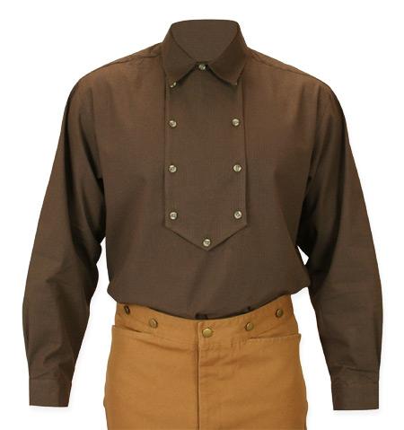 Appaloosa Shirt - Brown Stripe