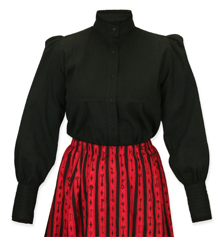 Muriel Pleated Blouse
