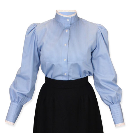 School marm blouse