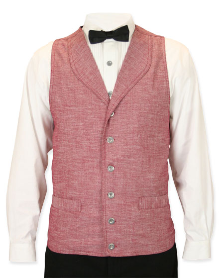 Bayfield Long-Waisted Vest - Burgundy