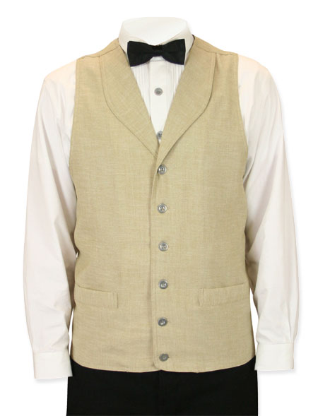 Bayfield Long-Waisted Vest - Tan