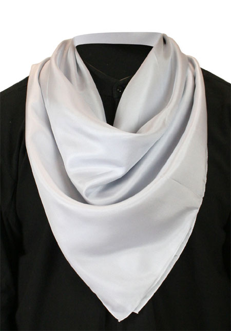 Premium Silk Neckerchief - Gray