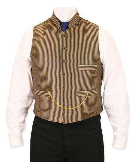 Wallace Striped Vest