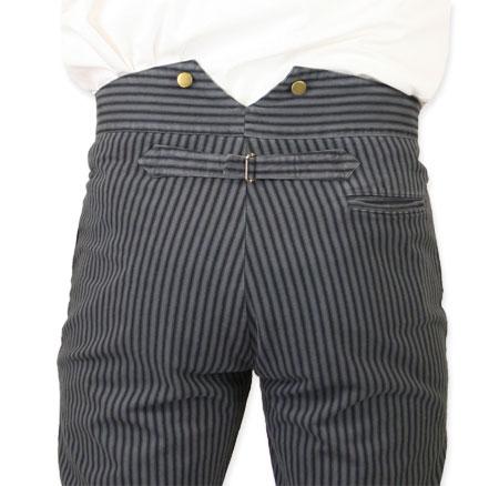 87c8bcb3 Edgar Striped Trousers - Gray