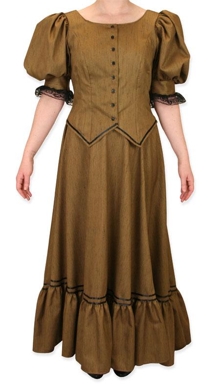 Antique Satin Day Suit