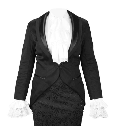 Calliope Tailcoat - Black