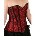 Destiny Overbust Fashion Corset - Red