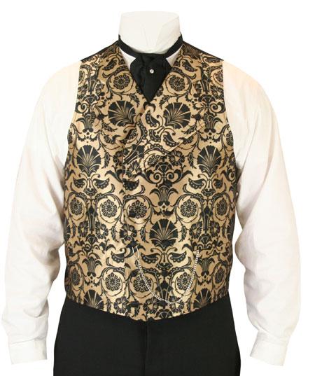 Penworth Vest - Gold