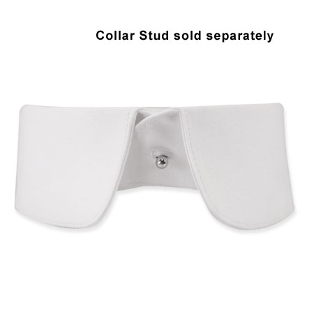 Reinforced Detachable Cotton Collar - Banker