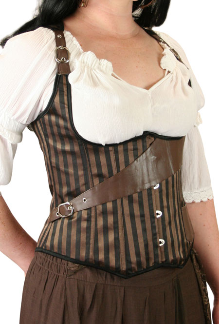 Baratavia Fashion Corset - Brown